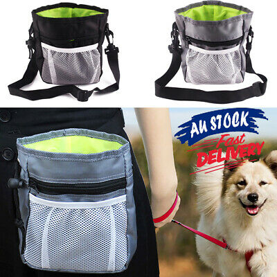 Dog E3 Waist Belt Bag with Snack Shoulder Strap Treat Training Pouch Oxford