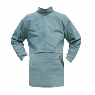 GN- Welding Coat Welder Clothing Heat Insulation Fire Resistant Compatible with