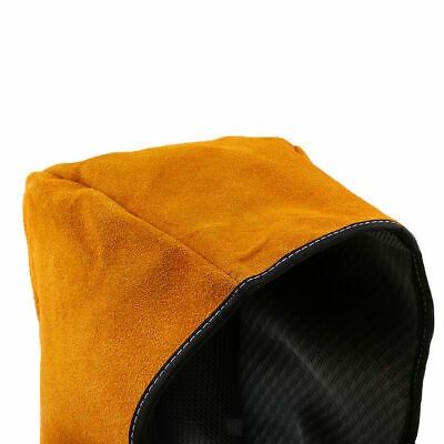 GN- Welding Hood safety cap Cover Welder Hat Cowhide Leather Hat Flame Resistant