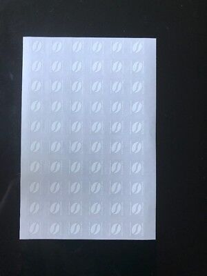 1200X UV Stickers For Mcdonalds Coffee Vouchers