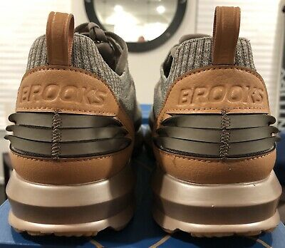 ee67c8eda48c Men s Brooks Levitate 2 LE Running Shoes Tan Brown Wood 1103021D 230 SZ 12