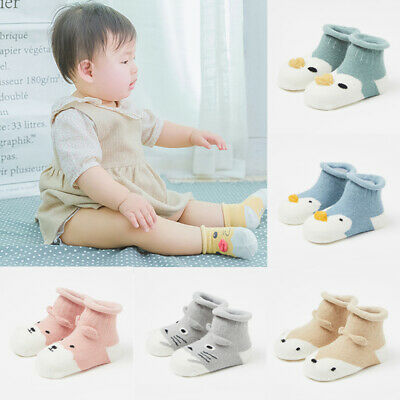 Baby Boys' Toddlers Ankle High Cute Socks Pack of 3 Age 0-6 6-12 12-18 Months