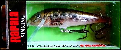39982 Rapala COUNT DOWN CD-7 Japan Special Color #TRL Live Brown Trout