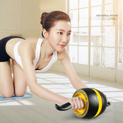 Ab Carver Pro Roller for Core Workouts wheel push up bars Easy Grip Handles