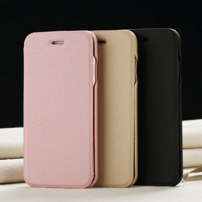 Slim Luxury Flip Cover Wallet Leather Case For Apple iPhone X 8 6s 7 Plus 5S