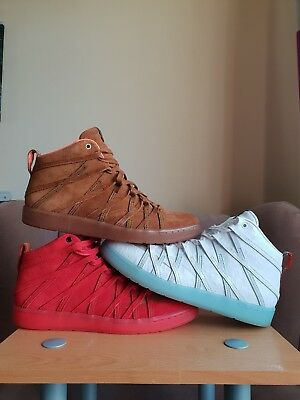 65a6df20bb68 Nike Kd Vii 7 Nsw Qs Lifestyle Challenge Red Suede Leather Kevin Durant  Curry