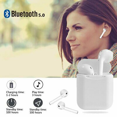i11 Wireless Bluetooth5.0 Earbuds Touch Headset Stereo Headphone Auto-pairing