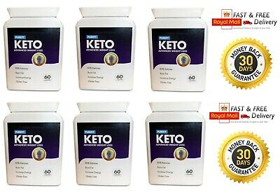 PUREFIT KETO ADVANCED WEIGHT LOSS (6X60 Capsules) FAST & UK FREE SHIPPING