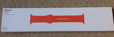 GENUINE APPLE WATCH SPORT BAND STRAP MM7W2ZM/A 38mm / 40mm 2016 * APRICOT * Rare