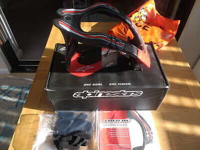 "NEW ""Alpinestars BNS Tech Carbon"" Off-Road Motorbike Neck Brace Support"