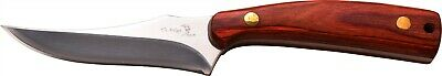 Elk Ridge ER-299WD Pakkawood Straight Full Tang Hunting Skinner Knife + Sheath