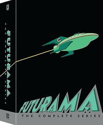 Futurama: The Complete Collection Seasons 1 - 8 (DVD 23-Disc Set, Boxset)