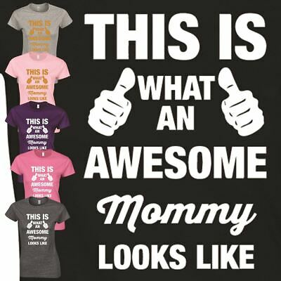 Mommy Look Like Top Funny Inspired T Shirt Mothers Day Gift Ladies Present
