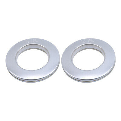 50Pcs Round Curtain Top Eyelet Ring Clips Grommet For Curtain Accessories CB