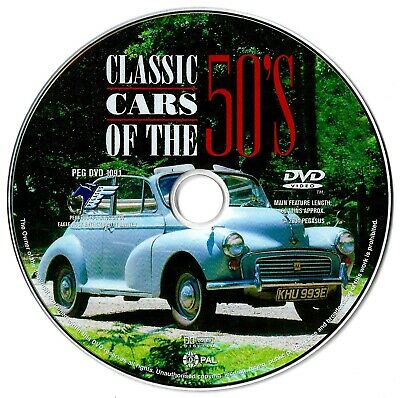 Classic Cars Of The 50's DVD Documentary Fifties