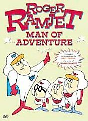 Roger Ramjet: Man Of Adventure (DVD) LIKE NEW DISC + COVER ARTWORK - NO CASE