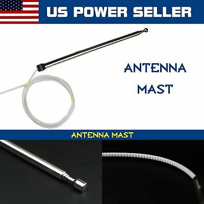 Power Antenna Booster Aerial Replacement Universal Car Electric AM FM Radio 12V