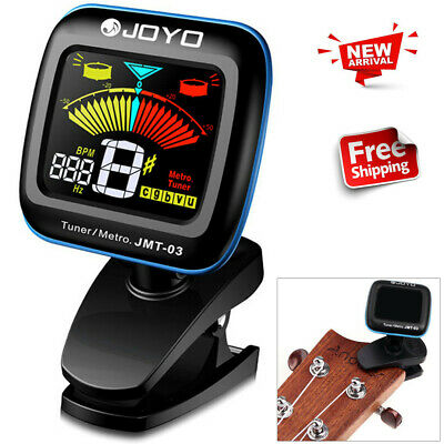 Tight Clip-On Tuner Metronome Musical Timer For Piano Guitar Bass Violin Ukulele