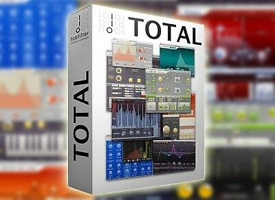 Fabfilter Total Bundle 2019 with Q3 Win or Mac vst vst3 rtas au (aax windows)
