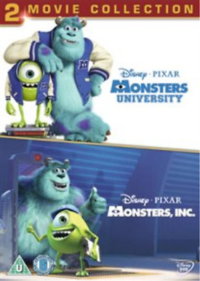 Monsters, Inc./Monsters University (UK IMPORT) DVD NEW