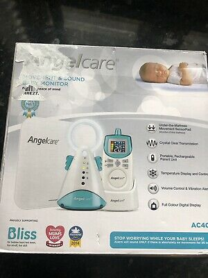 New Angelcare AC401 Movement and Sound Baby Monitor