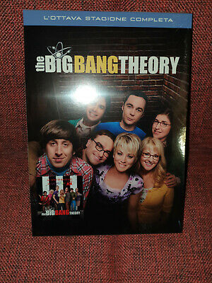 The Big Bang Theory - Stagione 8 (3 DVD)  - ITALIANO NUOVO SIGILLATO