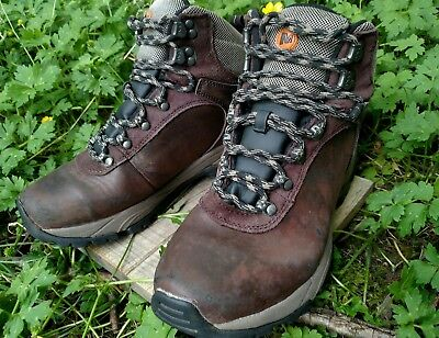 9857e29641848 Merrell Parkton Trekker Waterproof Leather Men's Boots Size 8 in Espresso  READ