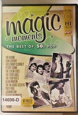 DVD MOVIE MAGIC MOMENTS THE BEST OF '50s POP in Original Jacket 02