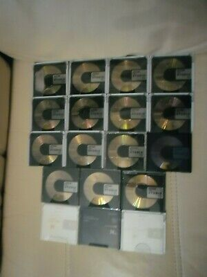 18 x PROFESSIONAL RECORDABLE AUDIO MINIDISCS.15 x TDK MD STUDIO/2 SONY ES & PRMD