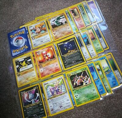 MINT 1st Edition Neo Genesis - Full Set of non-holos, rares, uncommons & commons