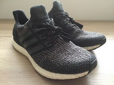 4d87f555cf1a5 Adidas Ultra Boost 4.0 Men s Core Black Carbon White UK Size 9 Good Cond