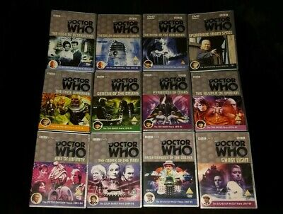 Classic Series Doctor Who Introduction. 15 DVD Beginner Starter Pack Collection