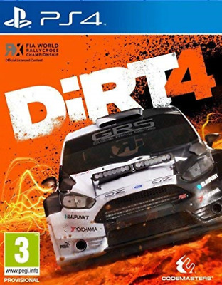 Software - PS4-Dirt 4 (UK IMPORT) GAME NEW