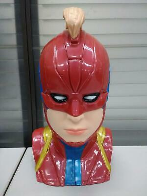 CAPTAIN MARVEL Brie HEAD PROMO BUCKET FOR POPCORN NEW MOVIE CINEMEX MEXICAN 2019
