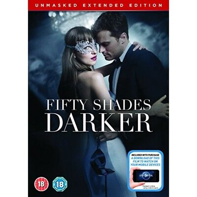 Fifty Shades Darker Unmasked Extended Edition DVD New Sealed