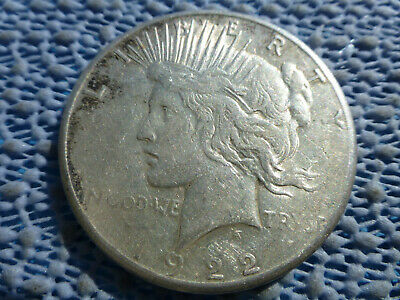 1922-S Peace Dollar - Circulated - San Francisco Mint - 90% Silver- LOVELY!