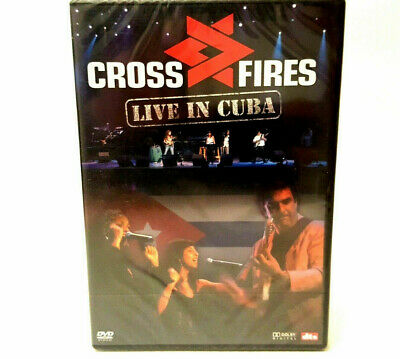 Cross Fires Live In Cuba - 2005 Concert Video - DVD PAL Region Free - New Sealed