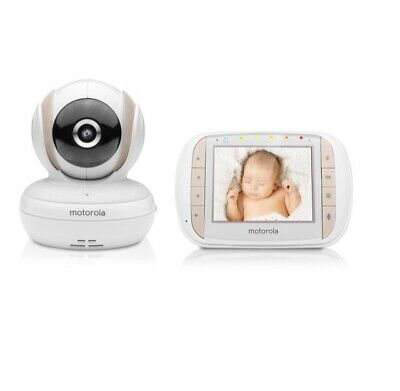 "Motorola Digital Baby Video Monitor 3.5"" Colour LCD Display (MBP35XLC)"