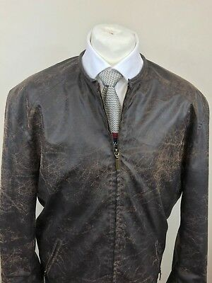Antique Leather Look Jacket 1 . Rare Vintage Details and Photos to follow