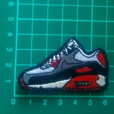 Nike Air Max Sneakers Iron On Embroidered Patch Uk Seller Trainers
