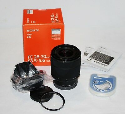 Brand New Sony FE 28-70mm f/3.5-5.6 OSS Lens SEL2870 + UV filter