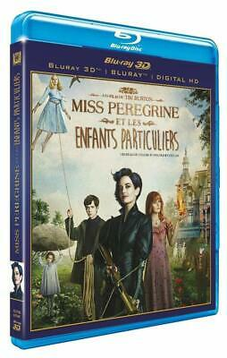 MISS PEREGRINE ET LES ENFANTS PARTICULIERS Blu Ray 3D + Blu Ray NEUF