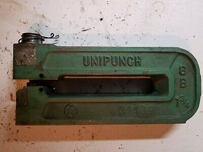 "UNIPUNCH        8 B - 1 3/4""       THIS IS  A C-Frame Punch/Die"
