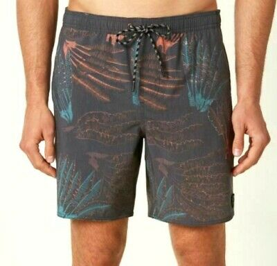 a78133edf5 O'NEILL PATCHES CRUZER Mens Cotton Blend Volley Boardshorts Medium ...
