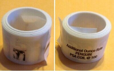 2015 US - Penguins Coil Roll of 100 - Additional Ounce - Scott# 4990