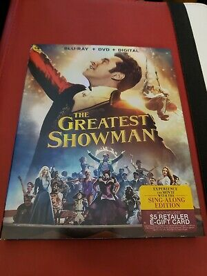 The Greatest Showman (Blu-ray Disc and case w slip cover no DVD, 2018)