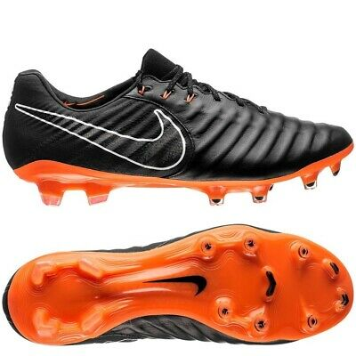 a9db1ebdb NEW Nike Tiempo Legend VII Elite Mens Football Boots Black Orange US 9.5  Soccer