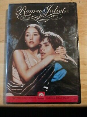 BRAND NEW, FACTORY SEALED - Romeo and Juliet (DVD, 2000, Sensormatic)