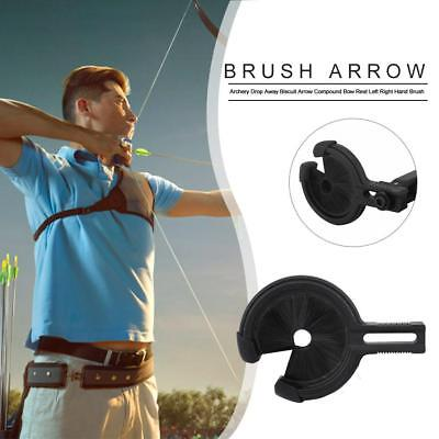 Archery Drop Away Biscuit Arrow Compound Bow Rest L R Hand Hunting Brush Whisker