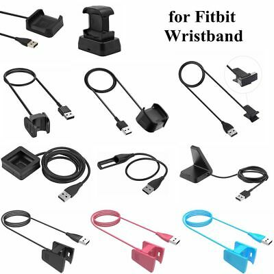 USB Charger Dock Adapter Charging Cable for Fitbit Charge 2 3 /Blaze/Alta/Versa